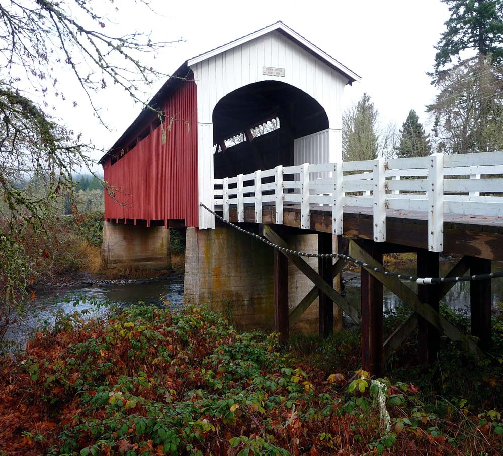 Covered Bridge Capital Of The West